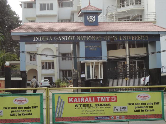 Indira Gandhi National Open University, UNIVERSITY,  service in ,