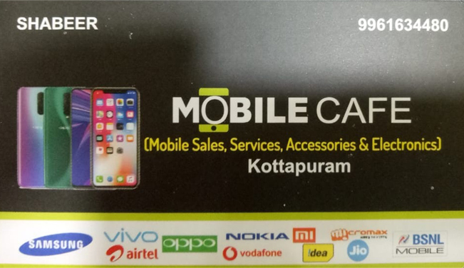 MOBILE CAFE, MOBILE PHONE ACCESSORIES,  service in Aluva, Ernakulam