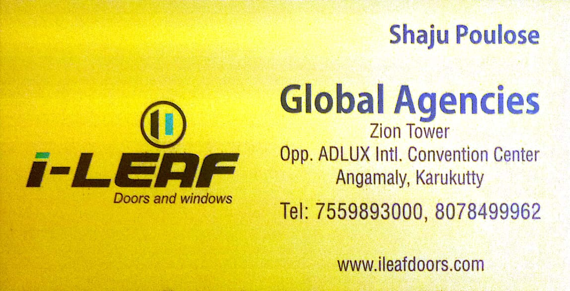 GLOBAL AGENCIES door and windows Angamali, DOORS,  service in Angamali, Ernakulam