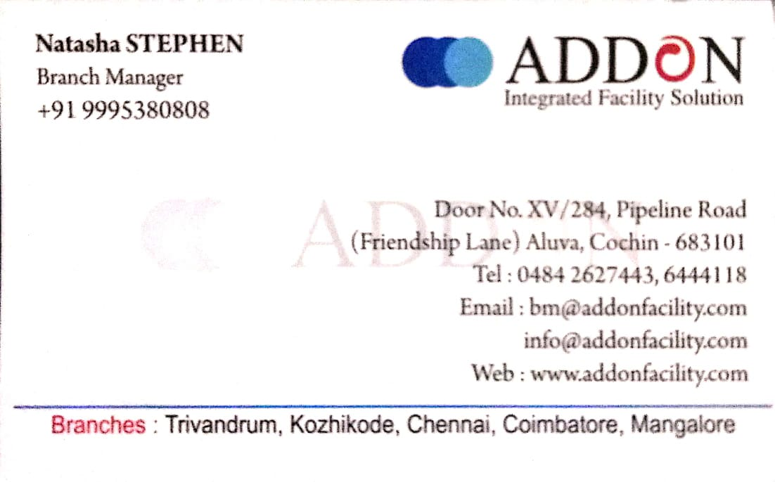 AddOn Facility Solution, CONSULTANCY,  service in Aluva, Ernakulam