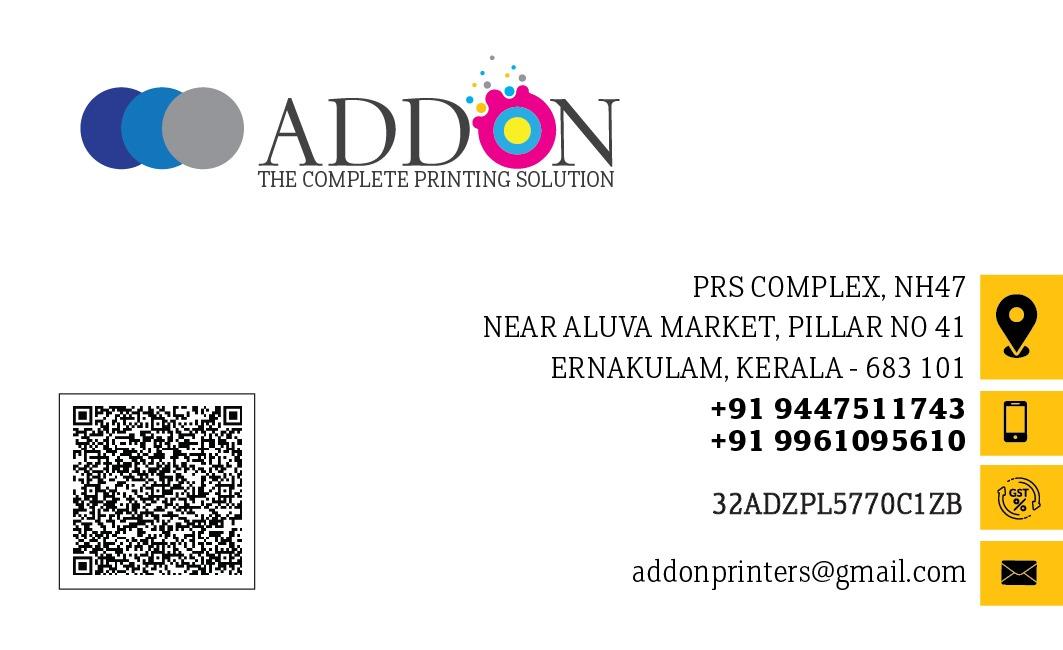 AddOn Printing Solution, PRINTING PRESS,  service in Aluva, Ernakulam