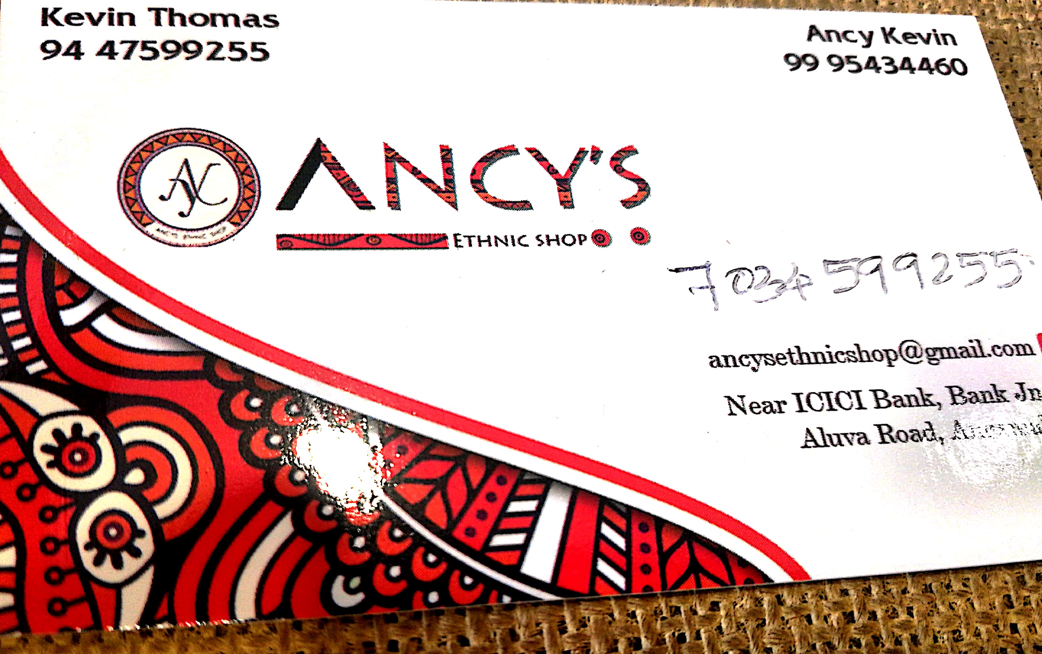 Ancy, BOUTIQUE,  service in Angamali, Ernakulam