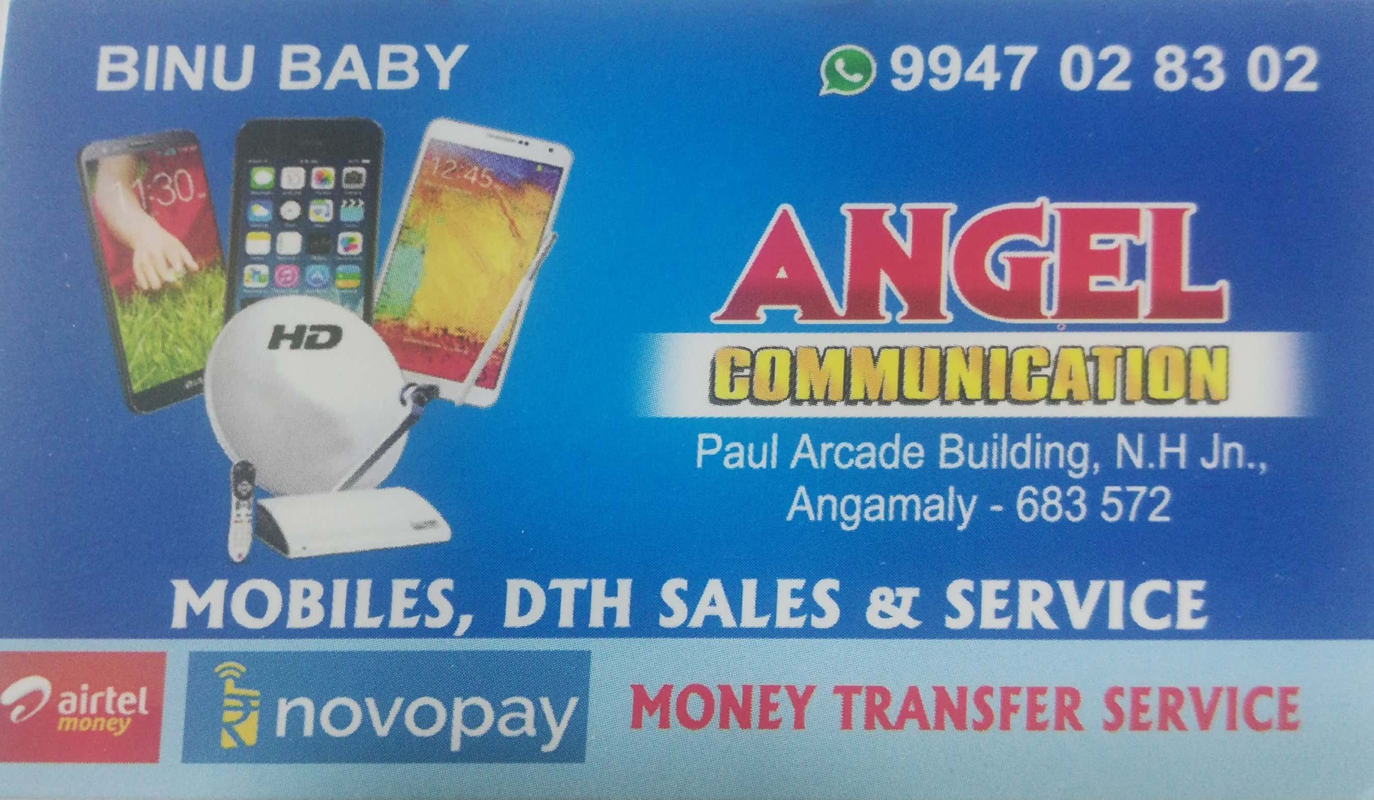 ANGEL COMMUNICATION, MOBILE PHONE ACCESSORIES,  service in Angamali, Ernakulam