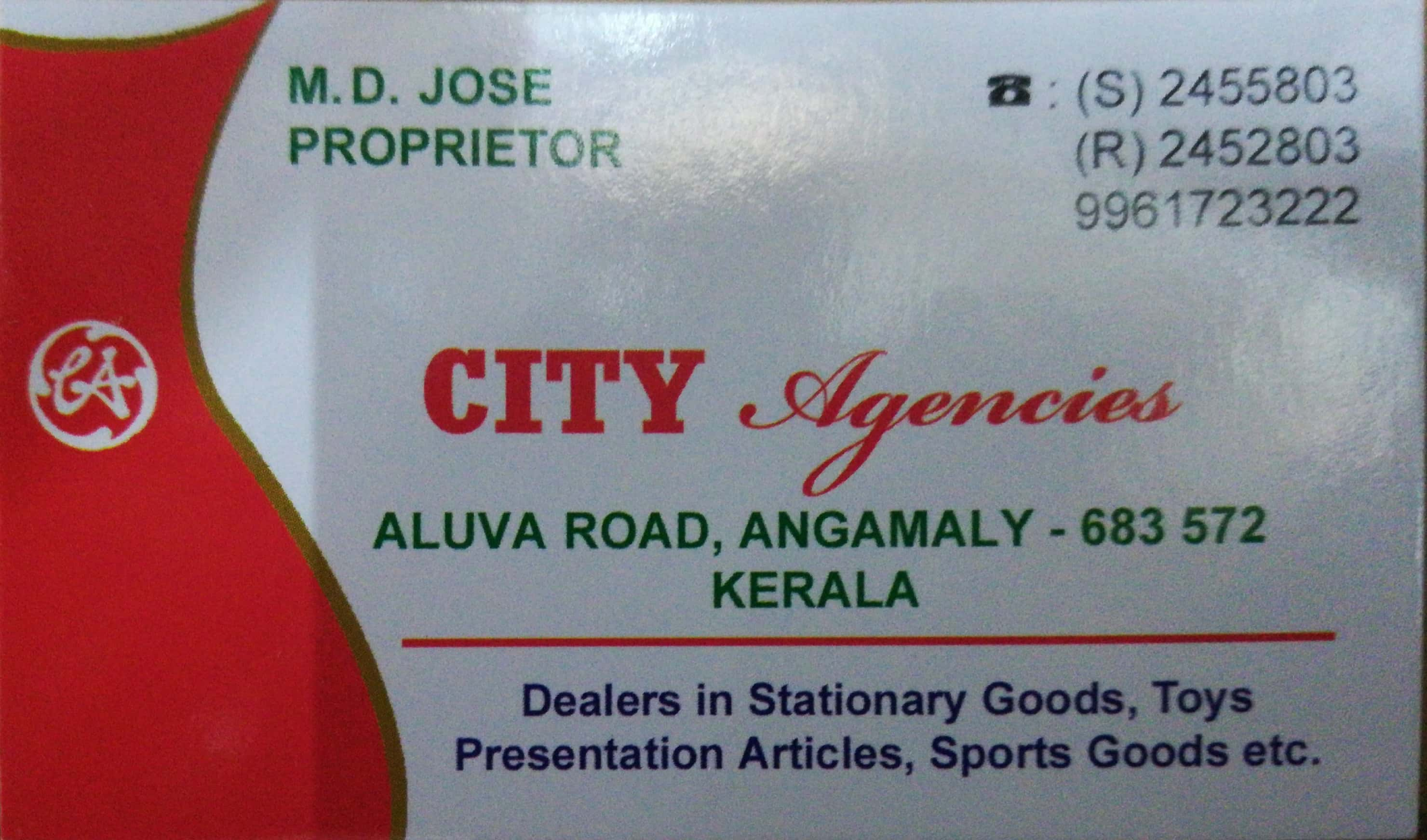 CITY Agencies, FANCY & COSTUMES,  service in Angamali, Ernakulam