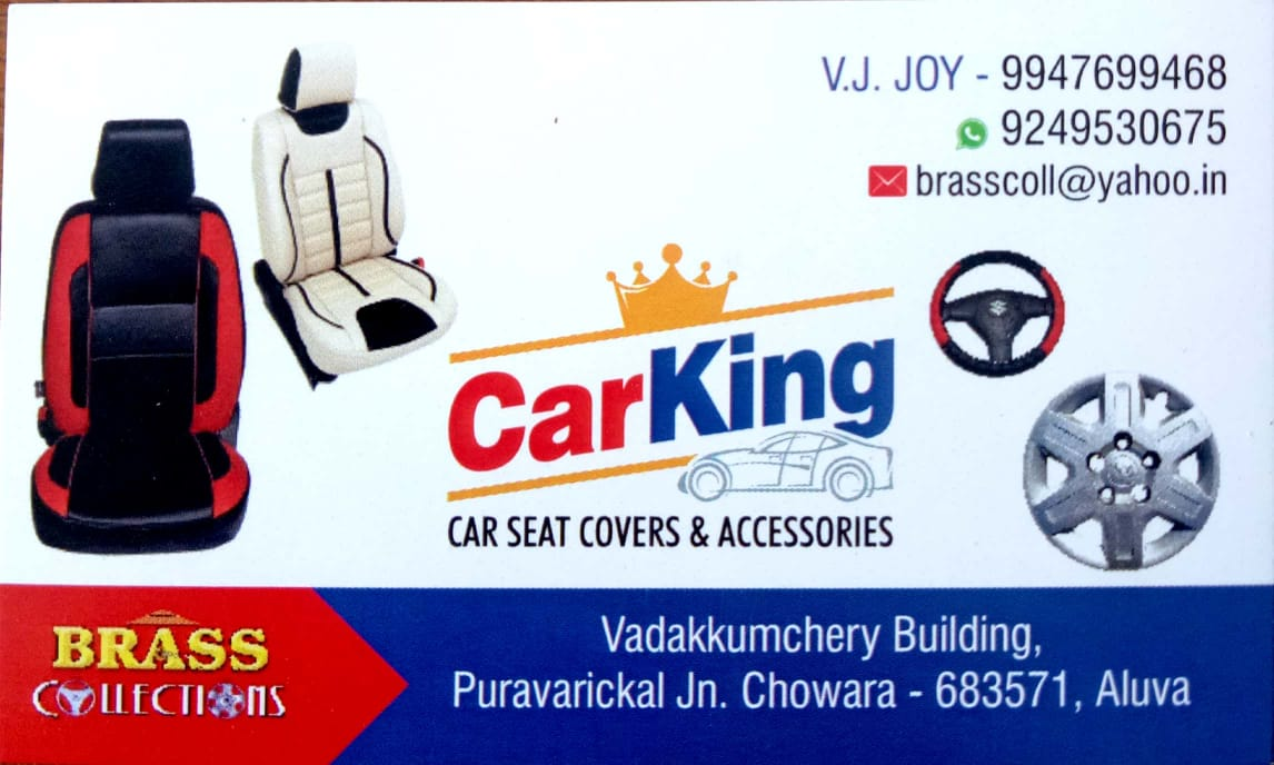 CAR KING car seat cover & accessories, ACCESSORIES,  service in Aluva, Ernakulam