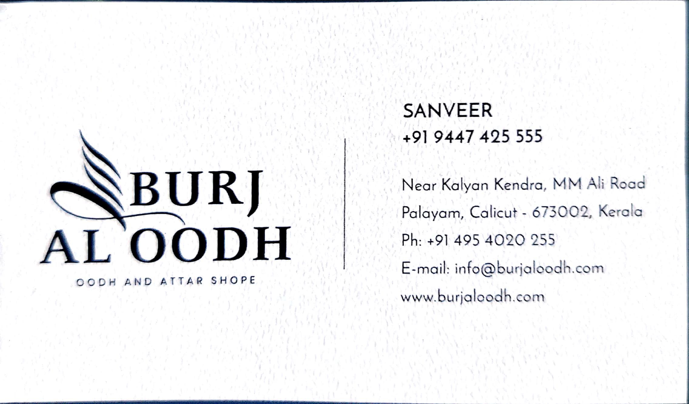 BURJ AL OODH, OUDH & ATTAR,  service in Kozhikode Town, Kozhikode