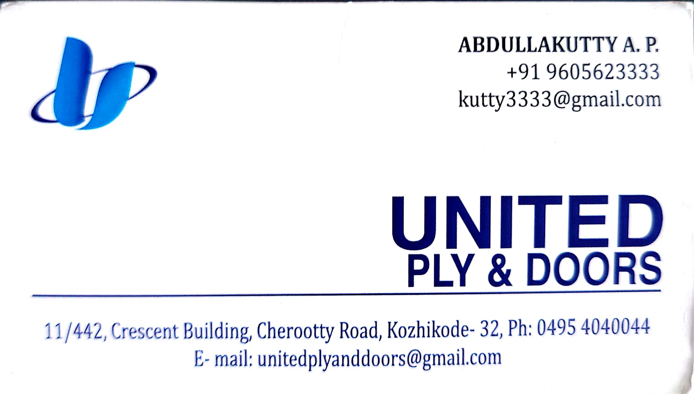 UNITED PLY AND DOORS, DOORS,  service in Kozhikode Town, Kozhikode