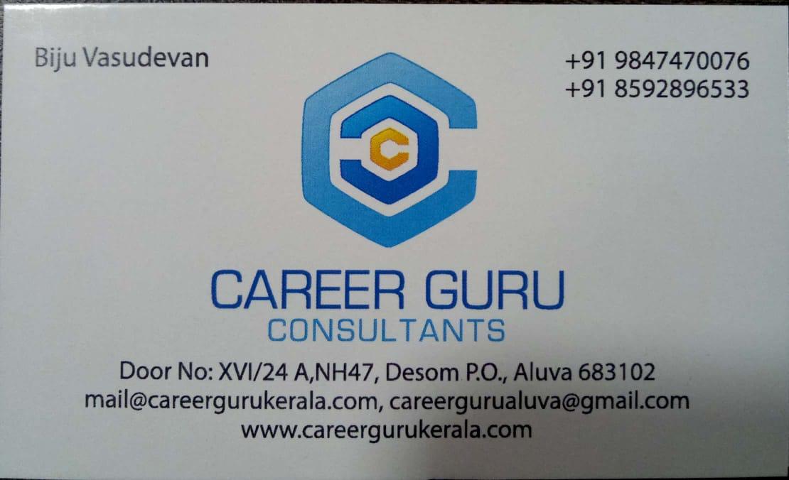 CAREER GURU consultants, EDUCATION CONSULTANCY,  service in Aluva, Ernakulam