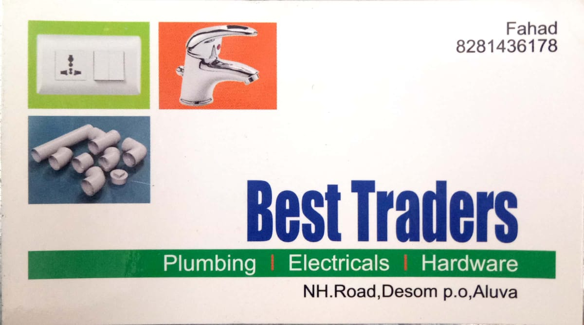 BEST TRADERS, HARDWARE SHOP,  service in Aluva, Ernakulam