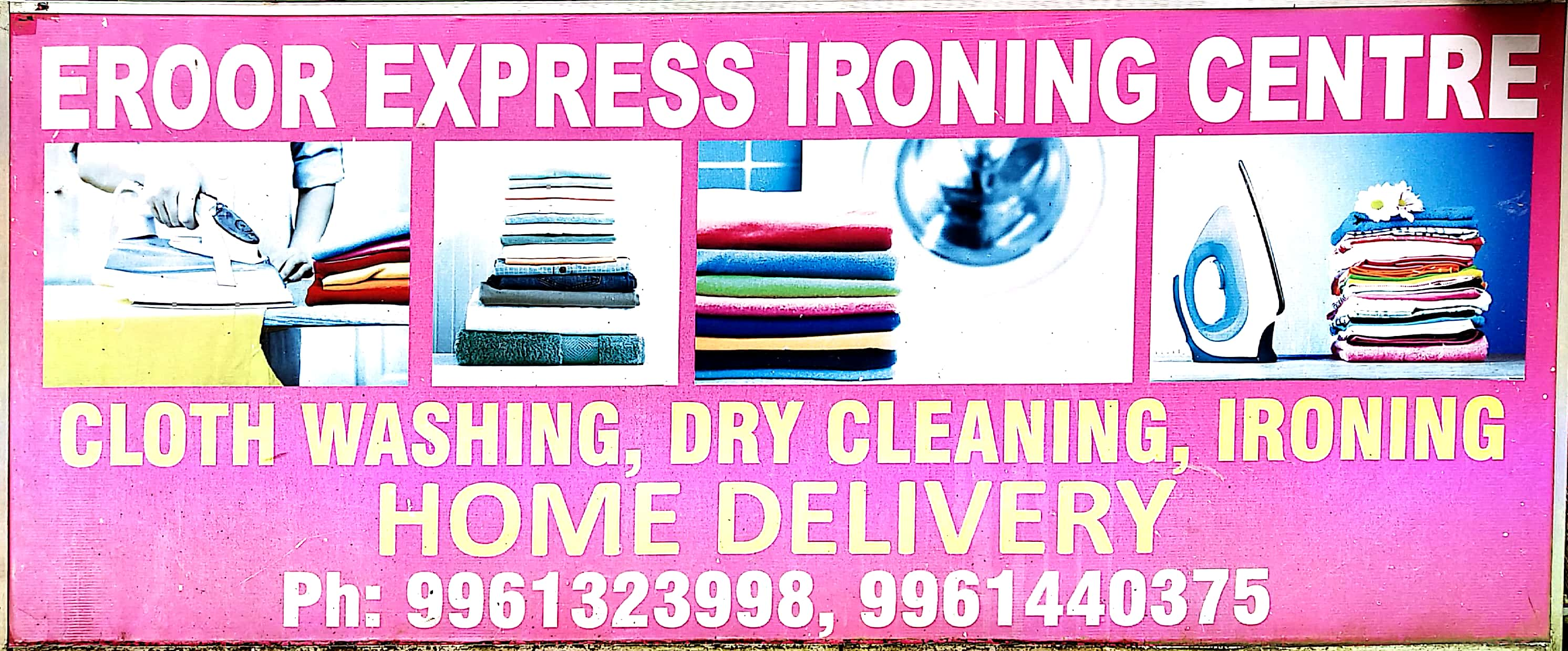 EROOR EXPRESS IRONING CENTER, IORNING SHOP,  service in Thrippunithura, Ernakulam