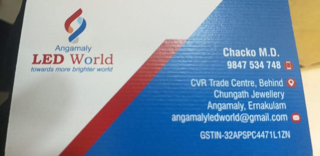 ANGAMALY LED WORLD, LIGHT,  service in Angamali, Ernakulam