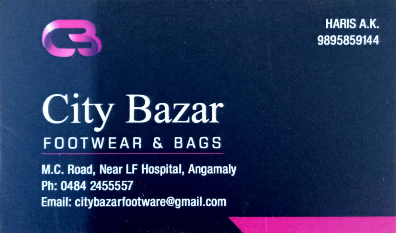 CITY BAZAR FOOT WEAR AND BAGS, BAGS SHOP,  service in Angamali, Ernakulam