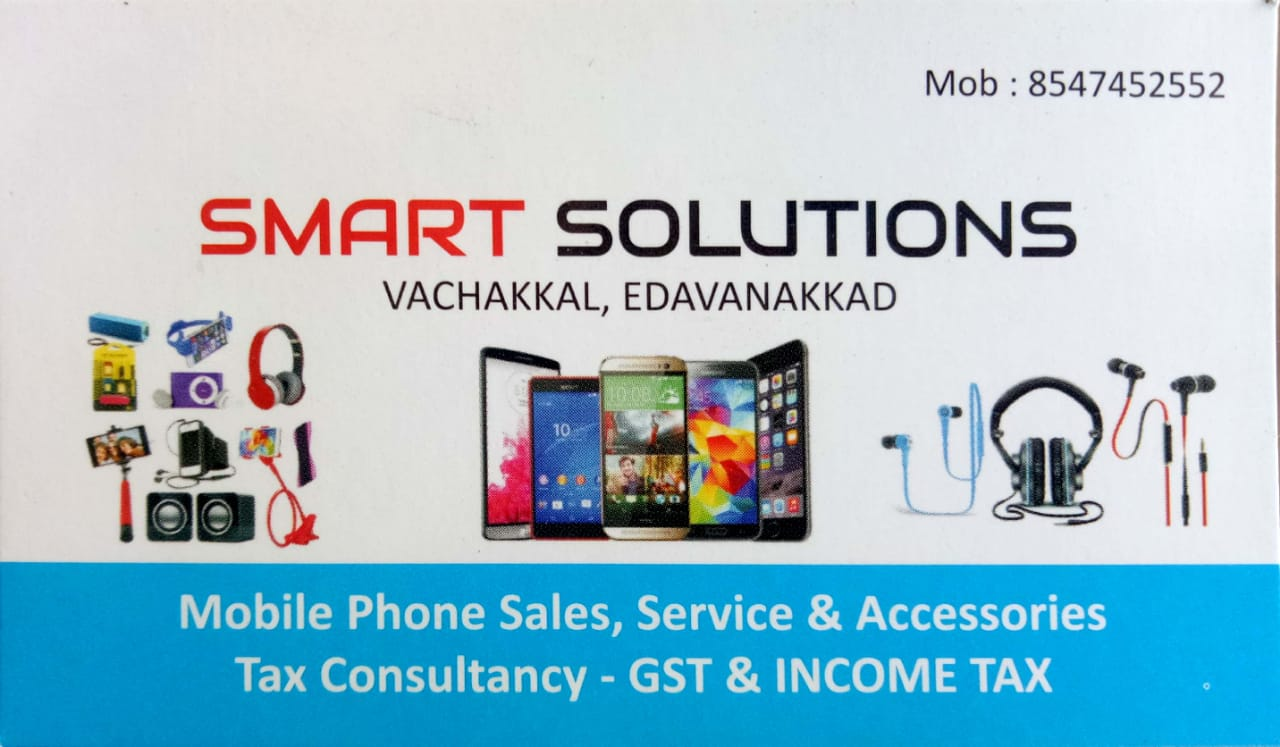 SMART SOLUTIONS, MOBILE PHONE ACCESSORIES,  service in Vypin, Ernakulam