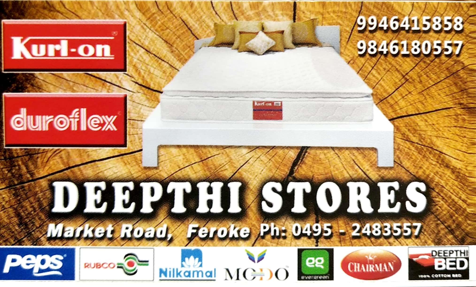 DEEPTHI STORES, MATTRESSES,  service in Farook, Kozhikode