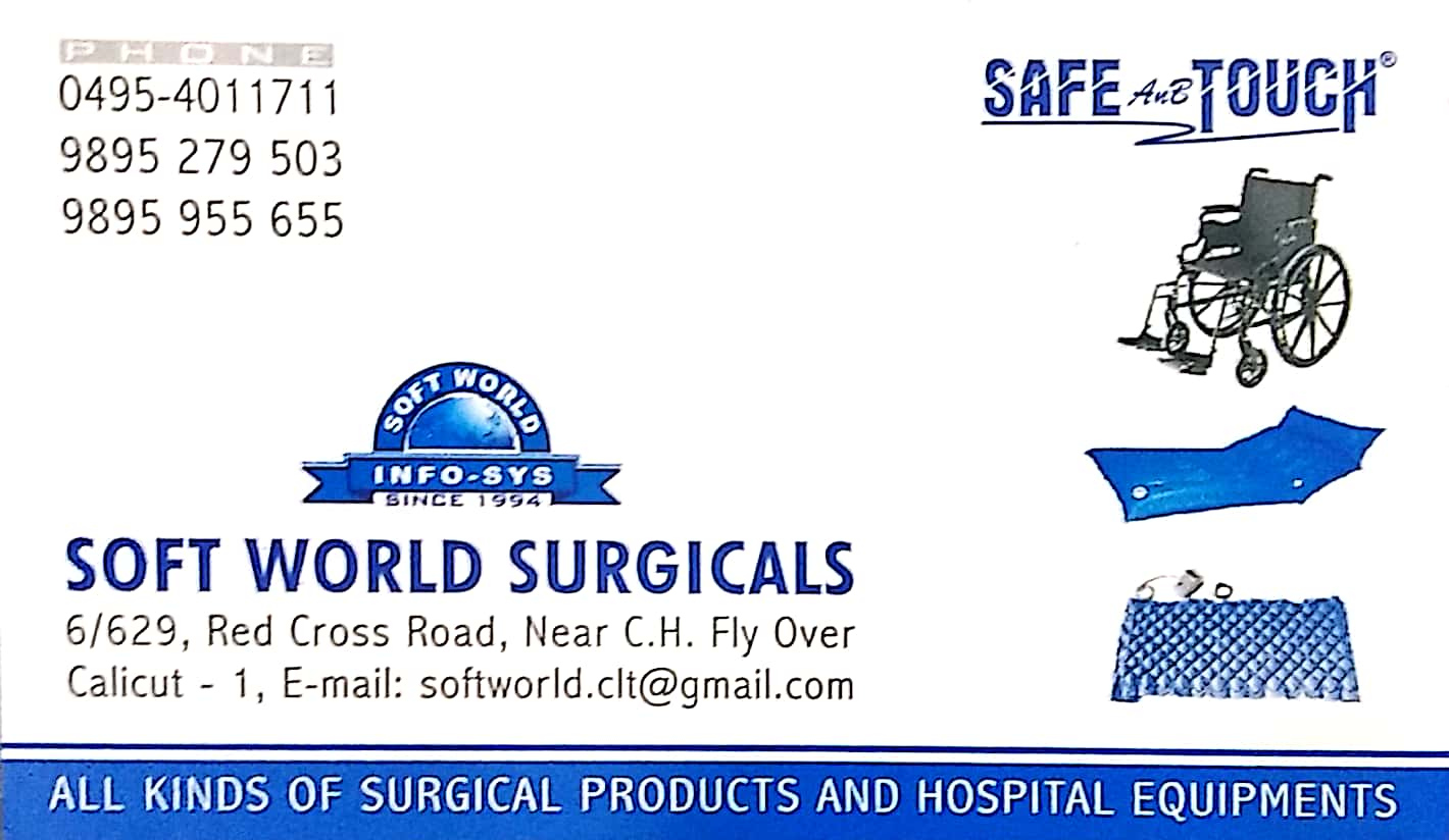 SAFE AND TOUCH, MEDICAL EQUIPMENTS,  service in Kozhikode Town, Kozhikode