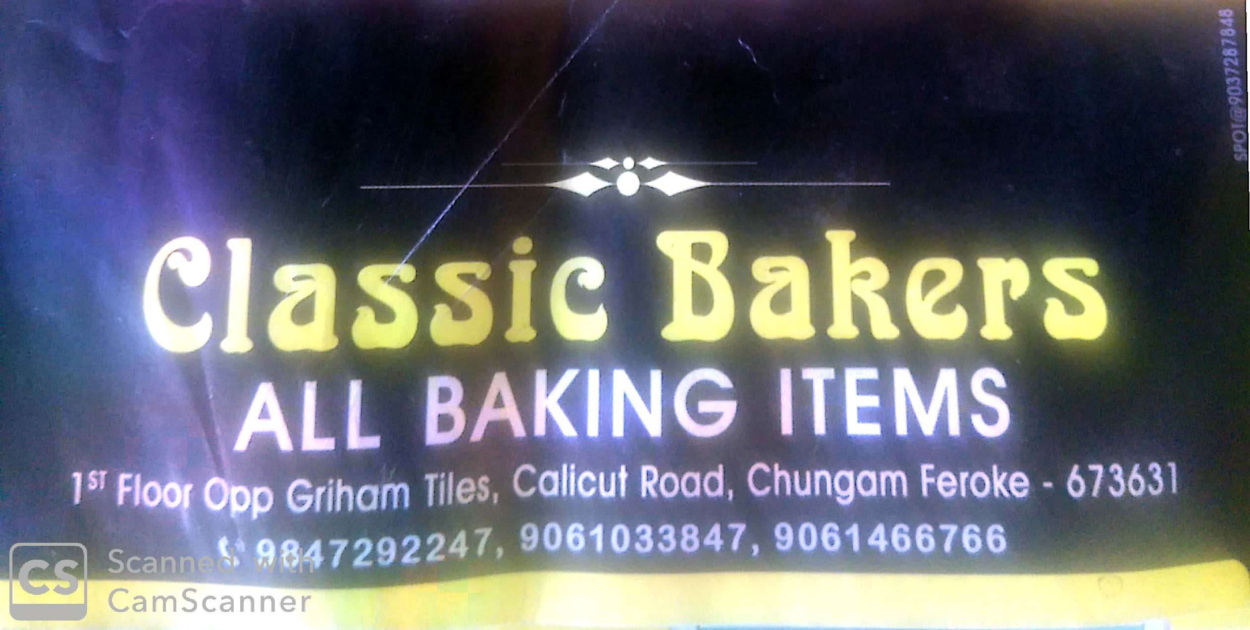 CLASSIC BAKERS, BAKING TOOLS,  service in Farook, Kozhikode