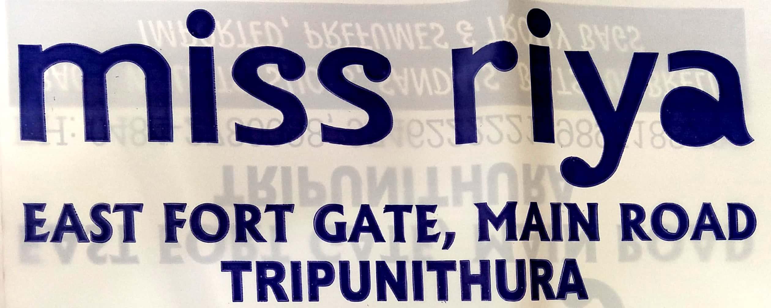 MISS RIYA, BAGS SHOP,  service in Thrippunithura, Ernakulam