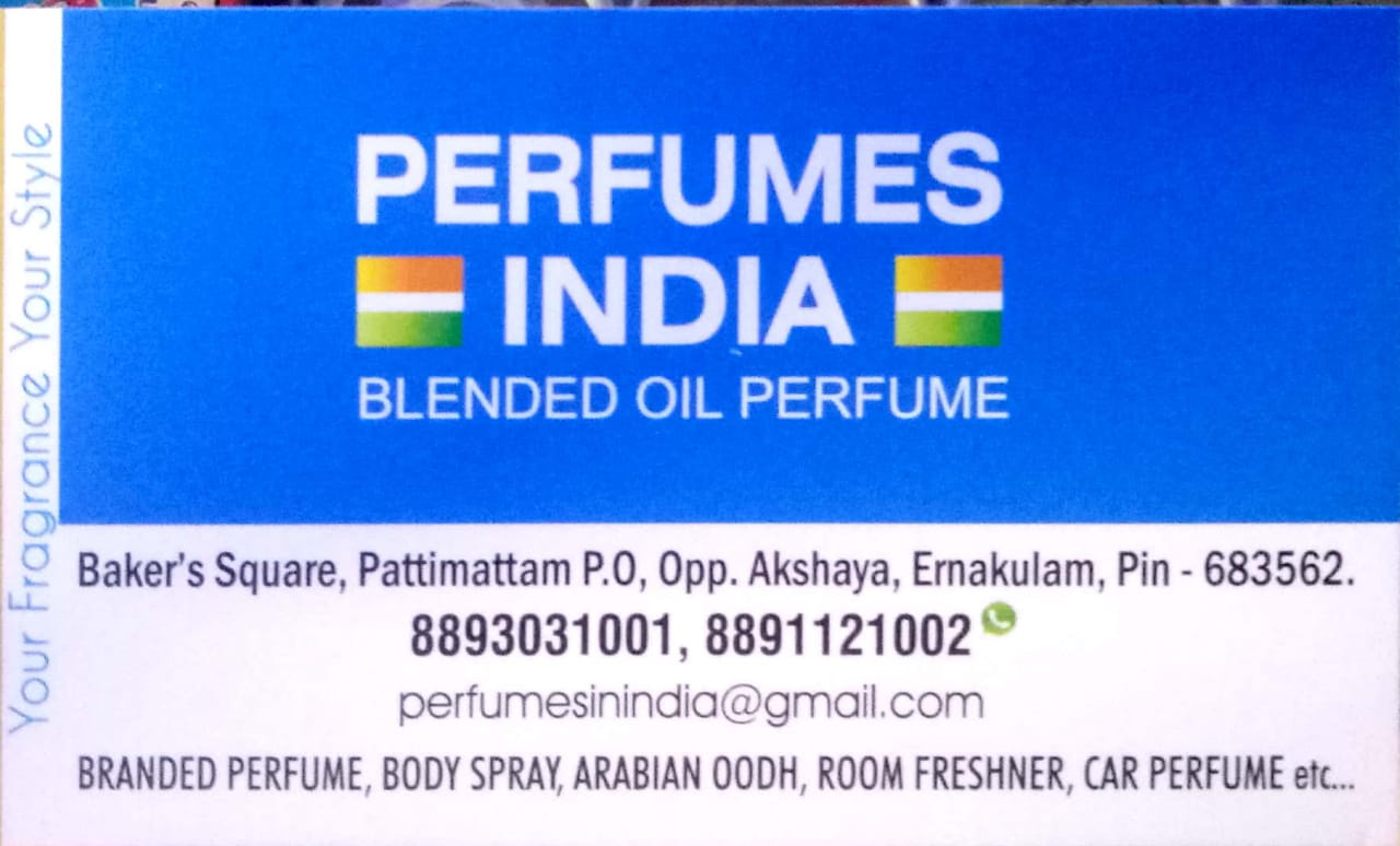PERFUMES INDIA Blended oil perfume, OUDH & ATTAR,  service in Kakkanad, Ernakulam
