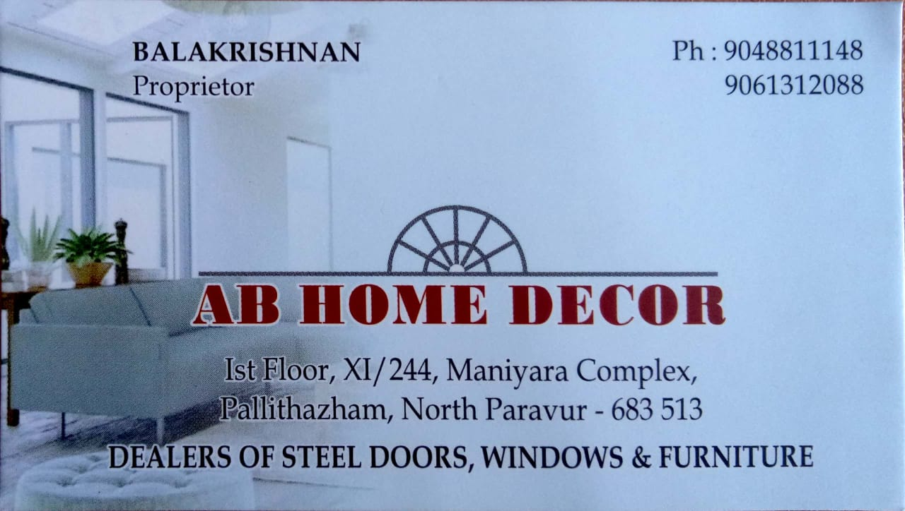 AB HOME DECOR North paravoor, DOORS,  service in North Paravur, Ernakulam