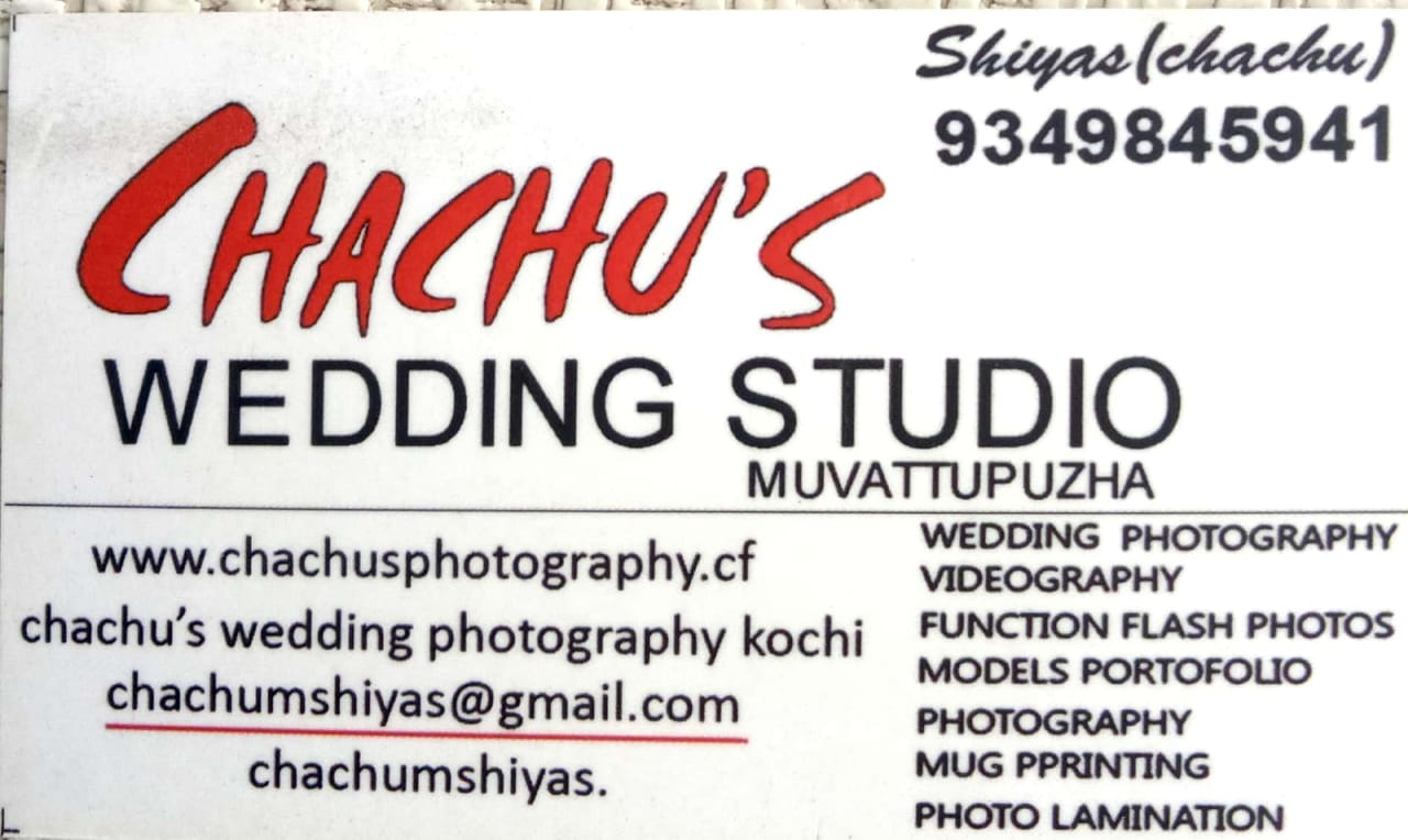 CHACHU S WEDDING STUDIO MUVATTUPUZHA