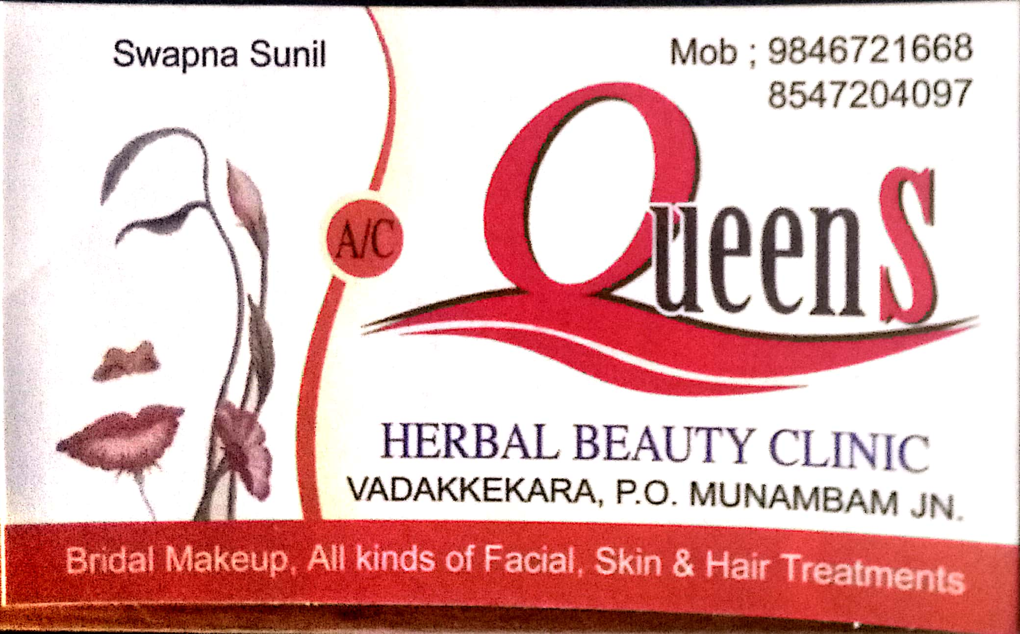 Queens Beauty Clinic North Paravoor