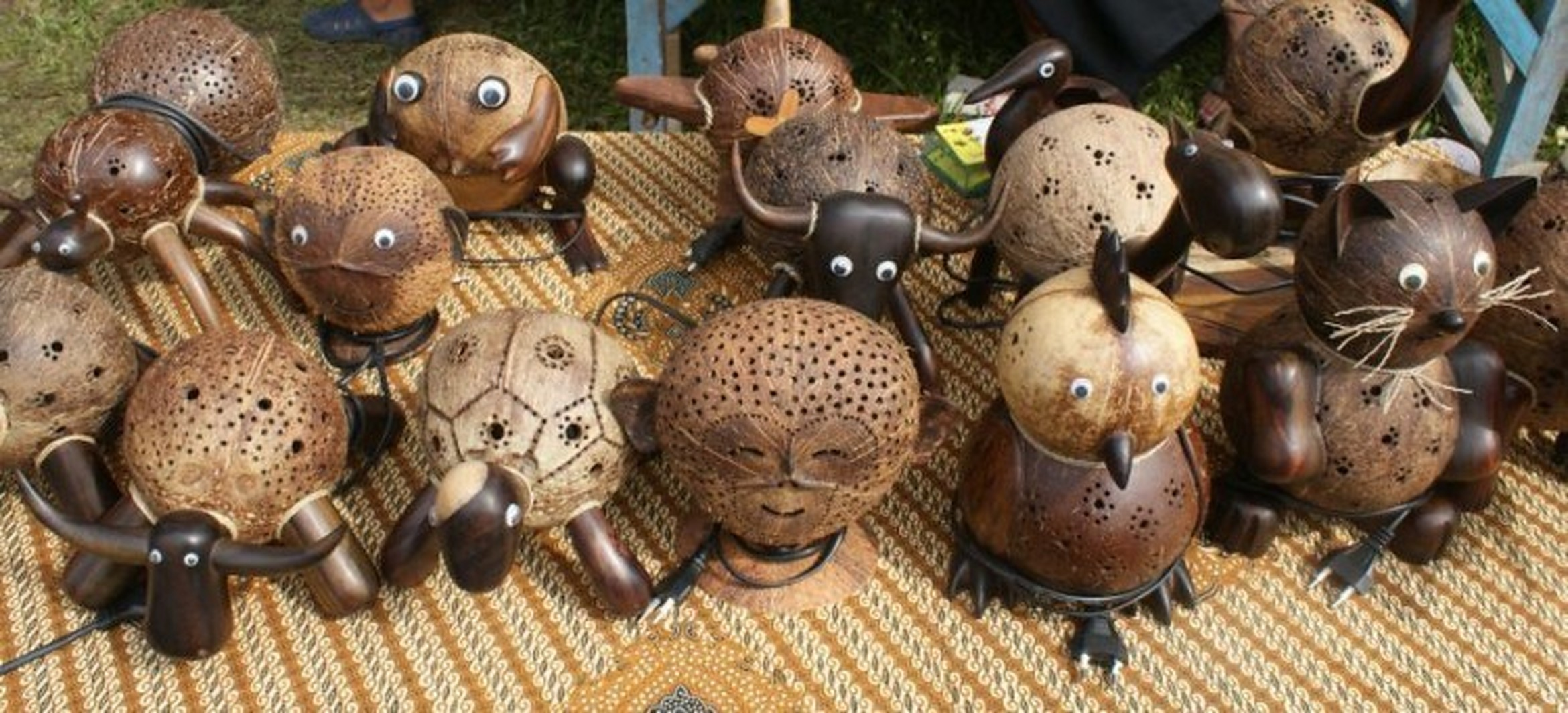 Coconut Shell Art, ART & CRAFT,  service in Nadapuram, Kozhikode