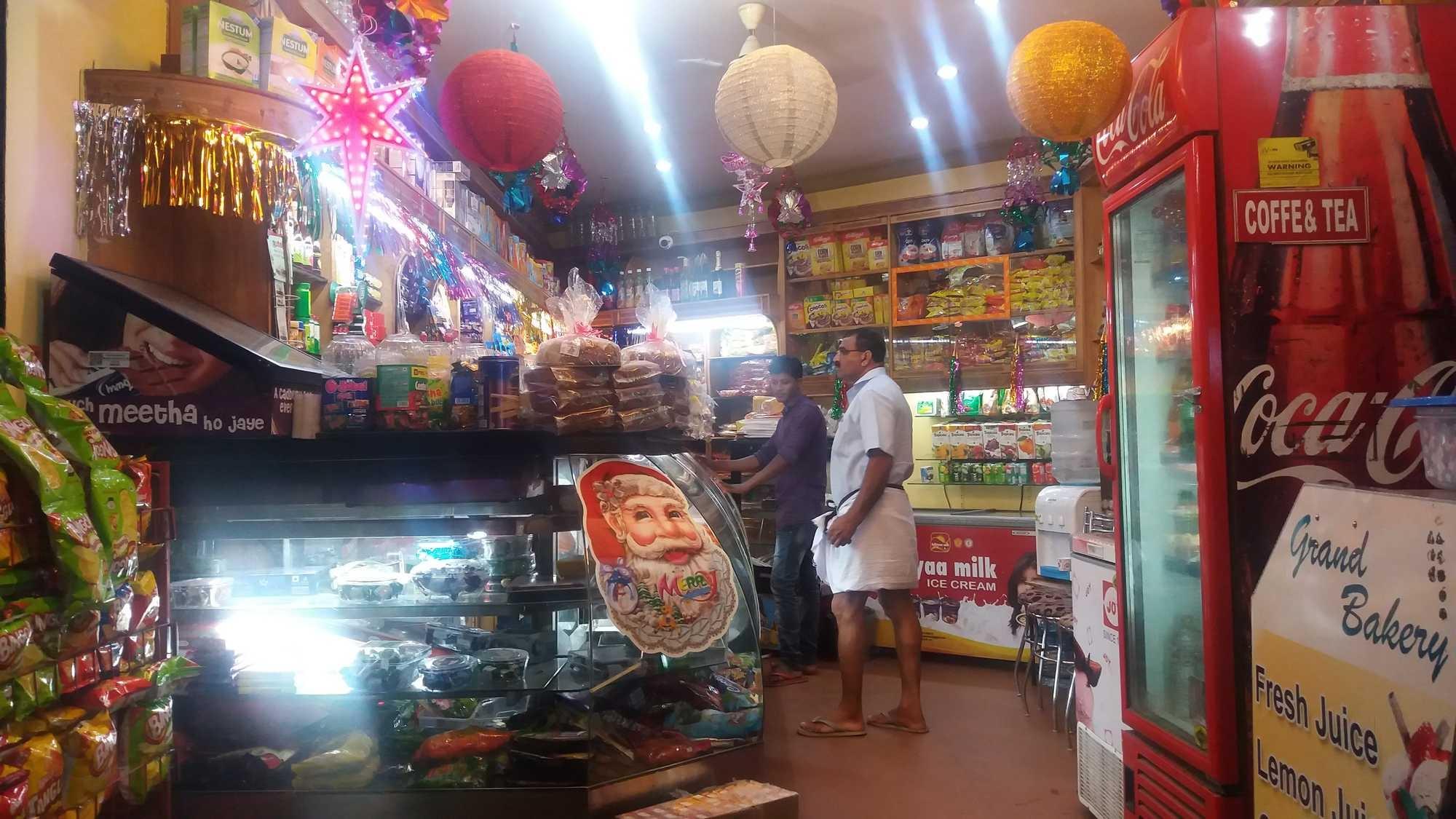 Grand Bakery, Backery & Cafeteria,  service in Kozhencherry, Pathanamthitta