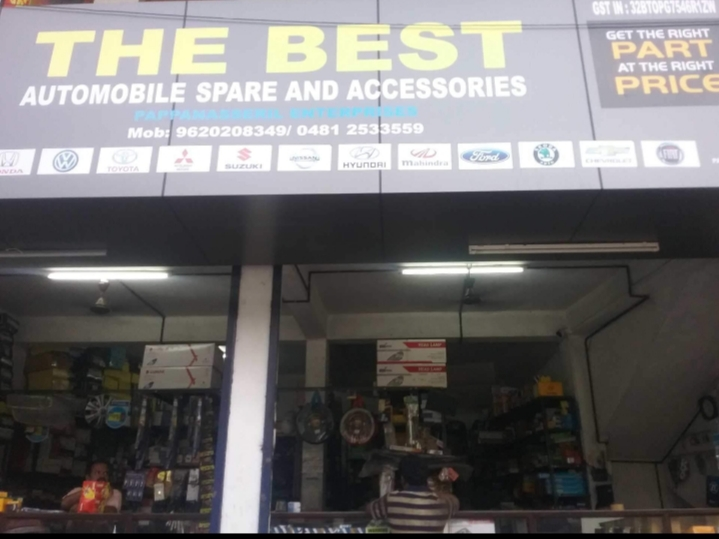 The Best Automobile & Spare, LUBES AND SPARE PARTS,  service in Ettumanoor, Kottayam