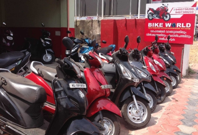 Bike World, BIKE SHOWROOM,  service in Kottayam, Kottayam