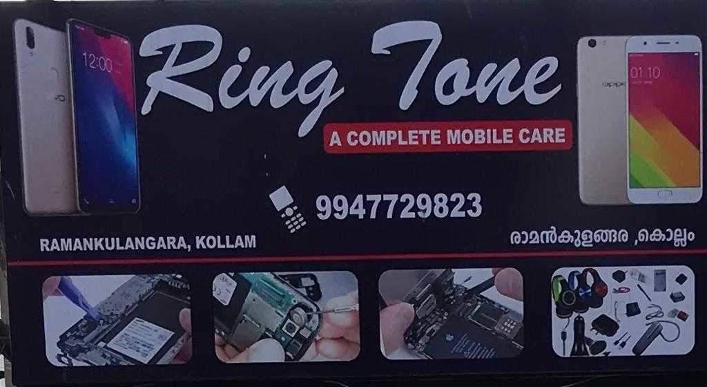 Ring Tone Mobile Shop, MOBILE REPAIR & SERVICES,  service in Kureepuzha North, Kollam