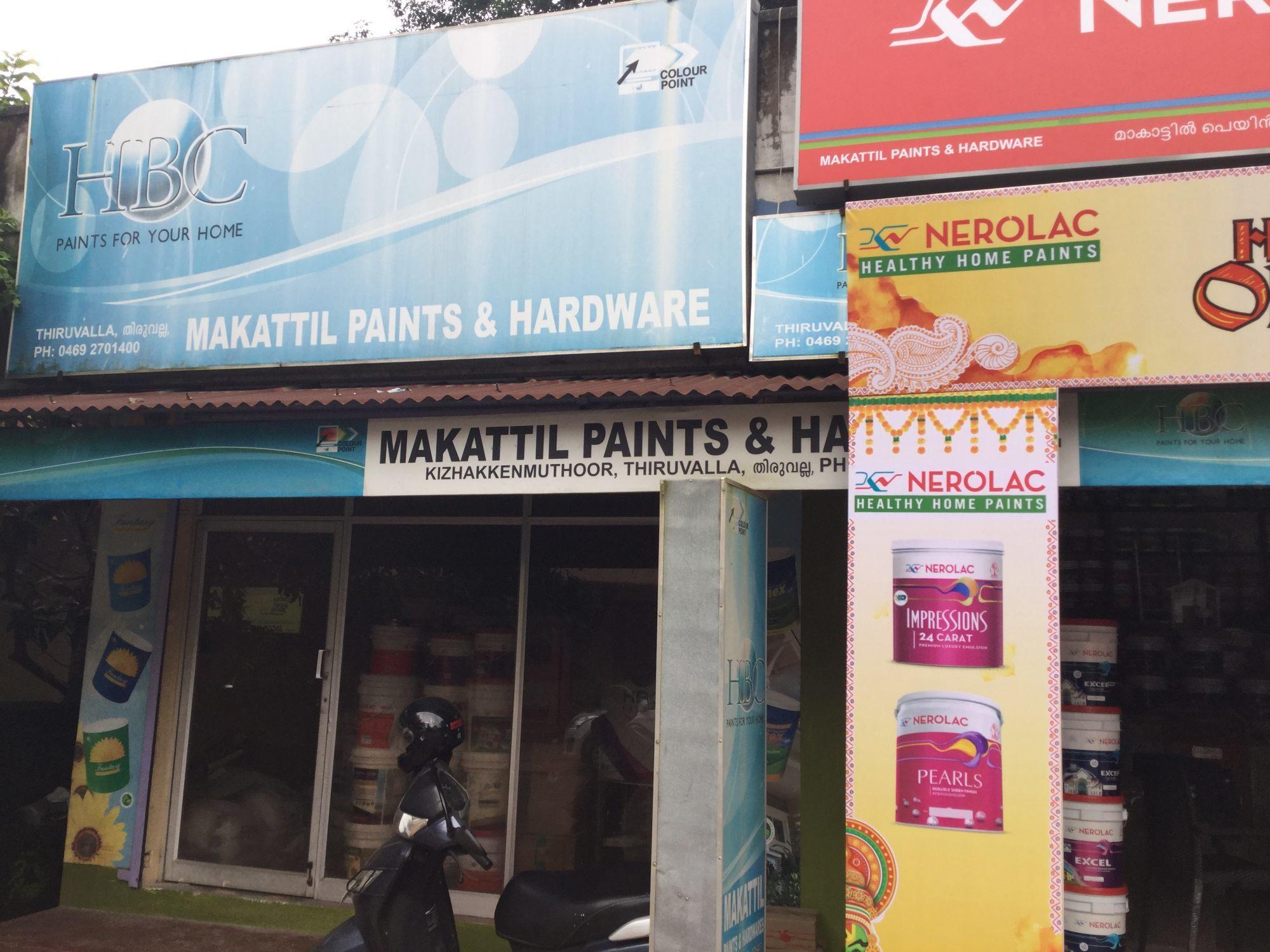 Makattil Paints & Hardware, PAINT SHOP,  service in Thiruvalla, Pathanamthitta