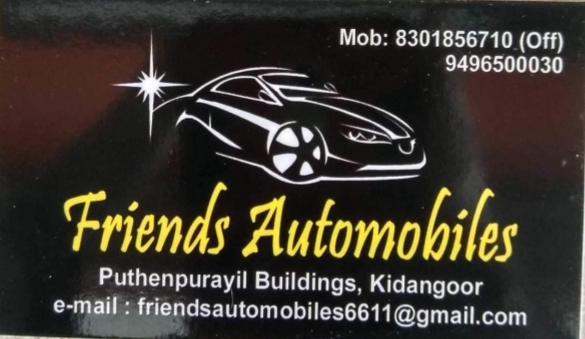 Friends Automobiles, LUBES AND SPARE PARTS,  service in Kottayam, Kottayam