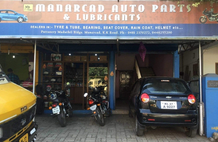Manarcad  Auto parts & Lubricants, LUBES AND SPARE PARTS,  service in Kottayam, Kottayam