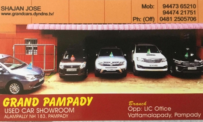 Grand Pampady, USED CARS,  service in Kottayam, Kottayam