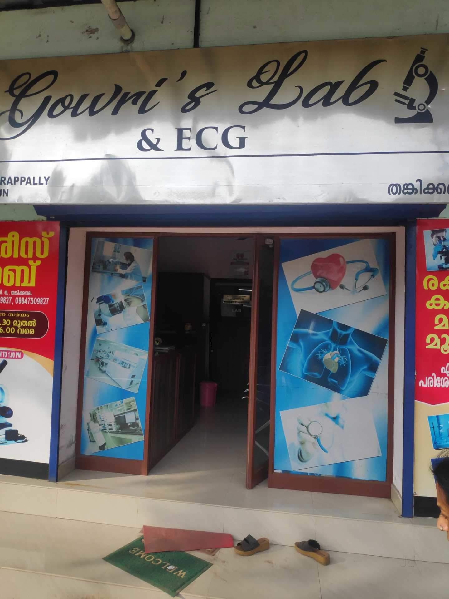 Gowri's Lab, LABORATORY,  service in Kadakkarappally, Alappuzha