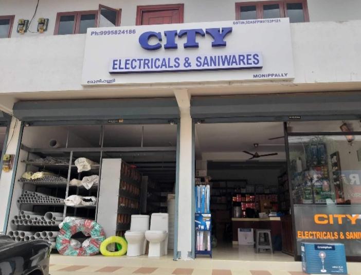 City Electricals & Saniwares, ELECTRICAL / PLUMBING / PUMP SETS,  service in Kottayam, Kottayam