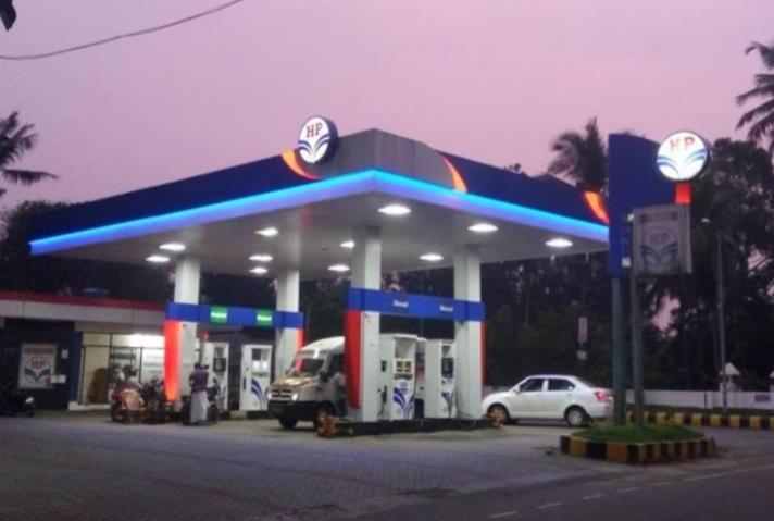 Hindustan Petroleum, PETROL PUMP,  service in Poonhar, Kottayam