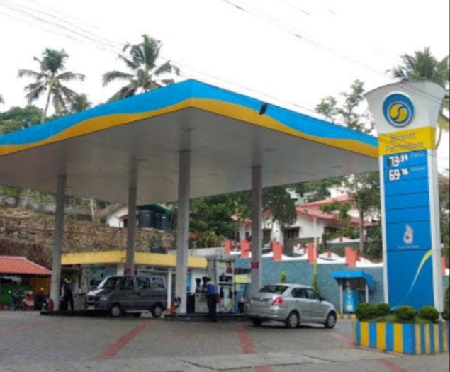 B P C L Retail outlet, PETROL PUMP,  service in Puthuppalli, Kottayam