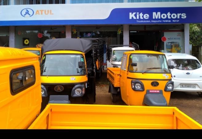 Atul Auto Showroom  Kite Motors, THREE WHEELER,  service in Alappuzha, Alappuzha