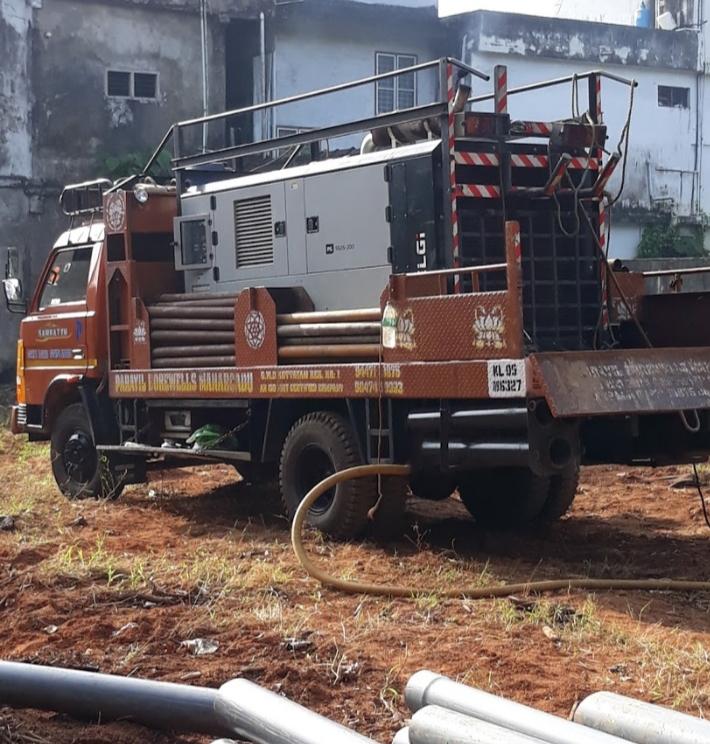 Parayil Borewells, BORE WELL,  service in Nedungadappally, Kottayam
