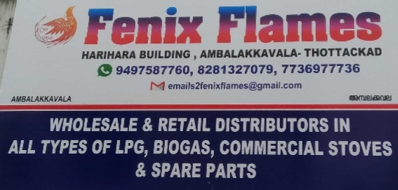 Fenix Flames, STOVE SALES & SERVICE,  service in Kottayam, Kottayam