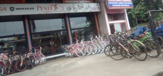 Penta bikes, CYCLE SHOP,  service in Pariyaram, Kottayam