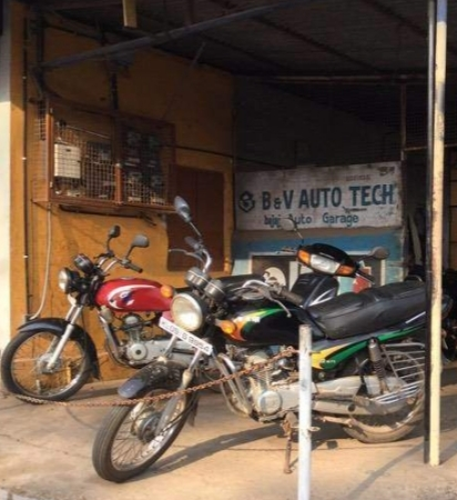 B & V  Auto tech, BIKE WORKSHOP,  service in Kottayam, Kottayam
