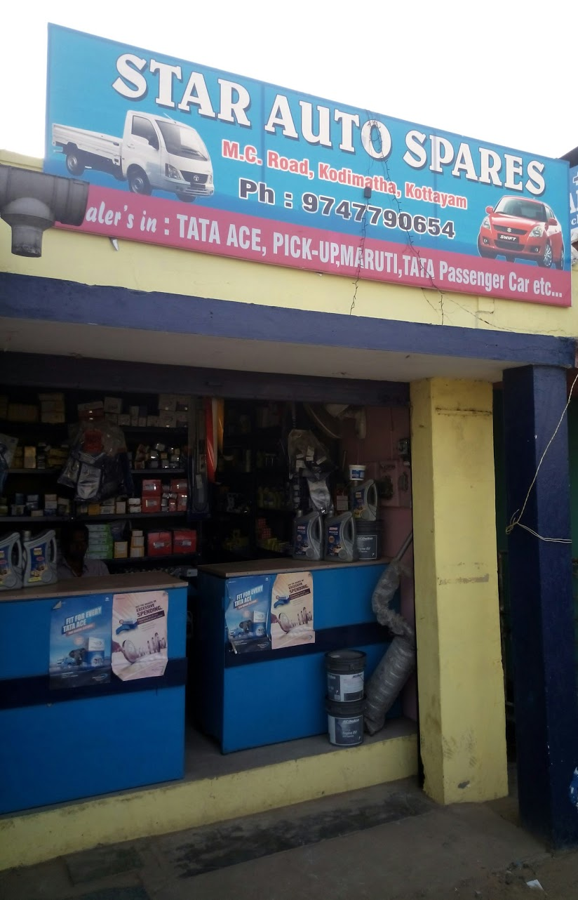Star Auto Spares, LUBES AND SPARE PARTS,  service in Kodimatha, Kottayam
