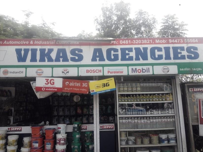 Vikas Agencies, LUBES AND SPARE PARTS,  service in Kodimatha, Kottayam