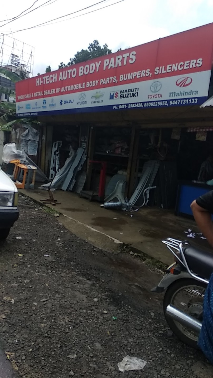 Hi-Tech Auto Body Parts, LUBES AND SPARE PARTS,  service in Kodimatha, Kottayam