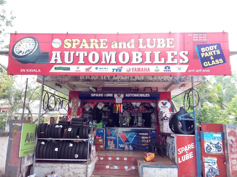 Spare And Lube Automobiles, LUBES AND SPARE PARTS,  service in Kottayam, Kottayam