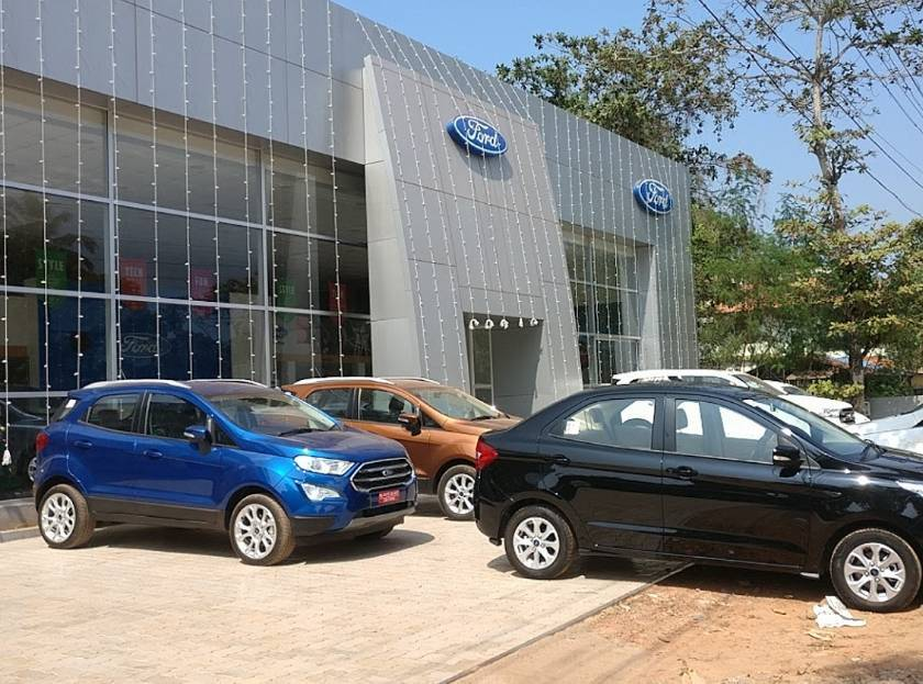 Cbc Ford, CAR SHOWROOM,  service in Thumpoly, Alappuzha