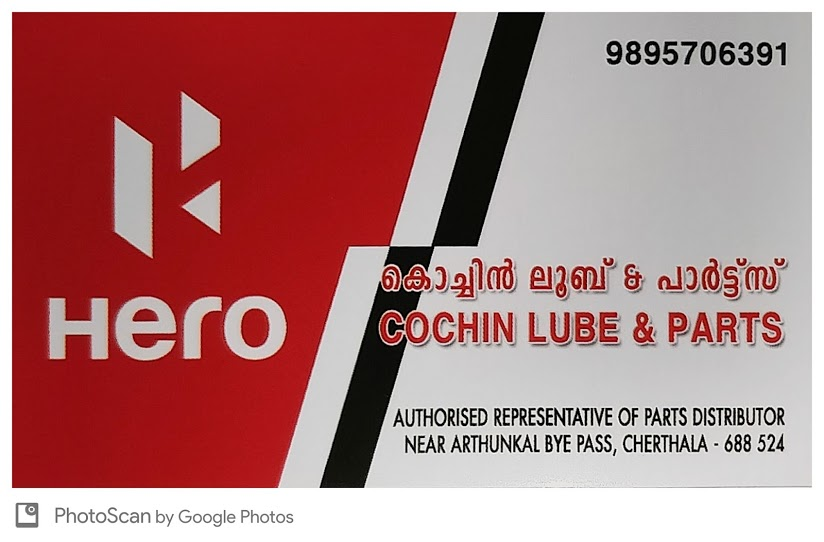 Cochin Lube & Parts, LUBES AND SPARE PARTS,  service in Cherthala, Kottayam