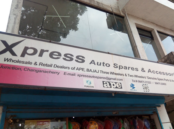 Xpress Auto Spares & Accessories, LUBES AND SPARE PARTS,  service in Changanasserry, Kottayam